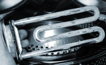 Heitzstab der Spülmaschine defekt